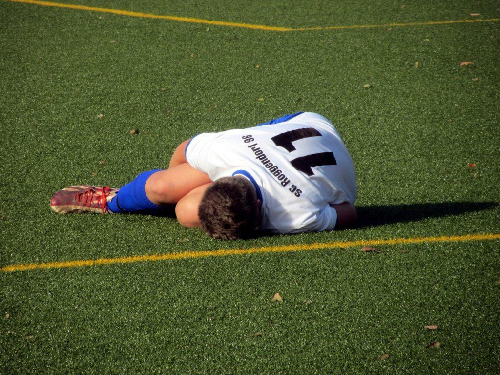 hurt player
